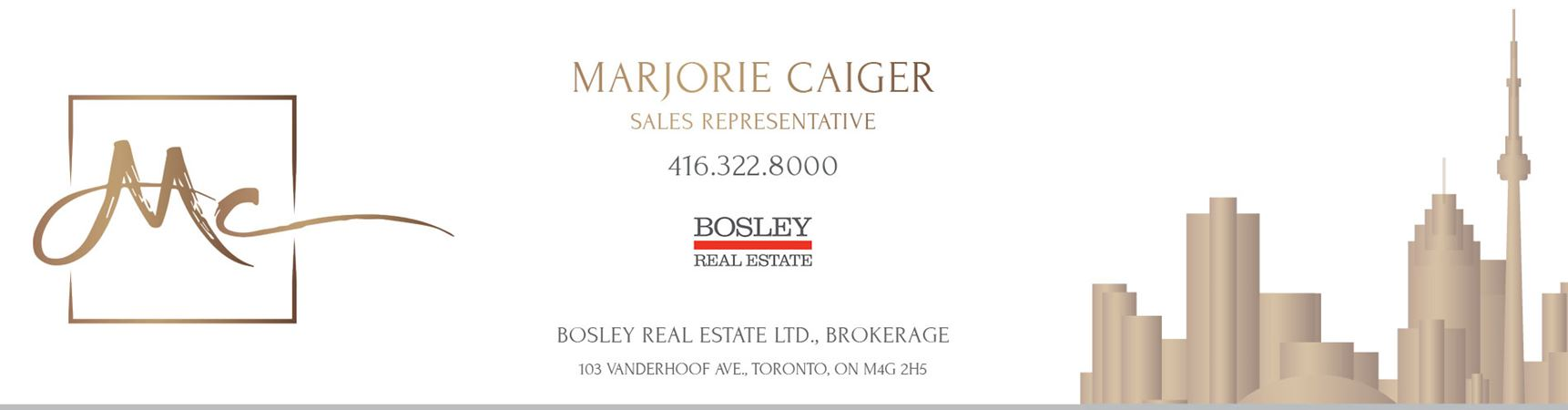 Marjorie Caiger | Real Estate Sales Representative